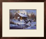 Winter Farm Prints by M. Caroselli