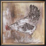 Poule Blanche Art by  Clauva