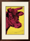 Cow, c.1966 (Yellow and Pink) Print by Andy Warhol