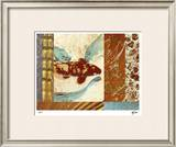 Painted Koi II Limited Edition Framed Print by M.J. Lew