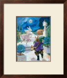 Cinderella Rabbit Print by Dot Bunn