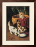 The Milk Dish Prints by Alfred Brunel De Neuville