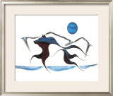 Wolf Spirit II Limited Edition Framed Print by Isaac Bignell