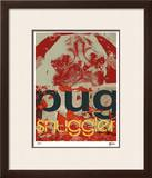 Pug Limited Edition Framed Print by M.J. Lew