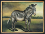 Zebra Poster by Denise Crawford