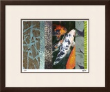 Koi Pond II Limited Edition Framed Print by M.J. Lew