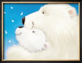 Fluffy Bears III Prints by Alison Edgson