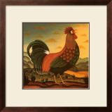 Rooster Art by Diane Pedersen