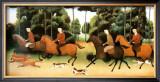Fox Hunting Print by Geneviève Jost
