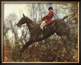 The Huntsman Limited Edition Framed Print by Sir Alfred Munnings