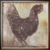 Poule Noire Prints by  Clauva