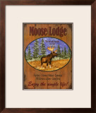 Moose Lodge Prints by Debi Hron