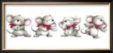 Animal Fun Time II Prints by  Makiko