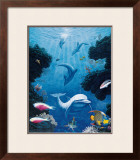 Dolphin Smiles, Maui Print by Andrew Annenberg