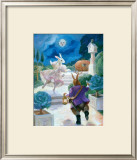 Cinderella Rabbit Posters by Dot Bunn