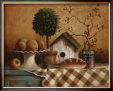 Birdhouse and Topiary Posters