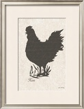 Rooster Silhouette I Posters by Grace Pullen
