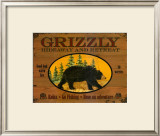 Grizzly Posters by Debi Hron