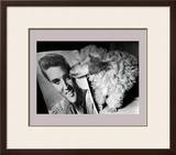 Toy Poodle Kisses Elvis Prints