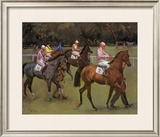 At The Races (Going Out At Kempton) Limited Edition Framed Print by Sir Alfred Munnings