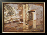 Coffee, Men, Chocolate Print by Lorraine Vail