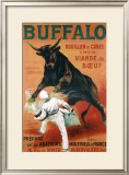 Buffalo Bouillon Framed Giclee Print by Leonetto Cappiello
