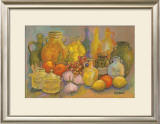 Mediterranean Kitchen II Prints by Karel Burrows