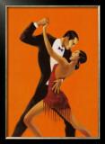 Tango Print by Aline Bureau
