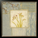 Brocade Freesia Poster by Laurel Lehman