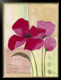 Pink Poppies I Art by Milena More
