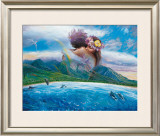 Held in the Arms Framed Giclee Print by Steve Sundram
