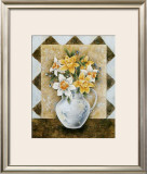 Vase of Narcissus Prints by A. Da Costa