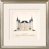 Chateau Pichon I Limited Edition Framed Print by Andras Kaldor