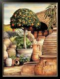 Orange Topiary Posters by Eduardo Moreau