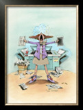Breakdown Framed Giclee Print by Gary Patterson