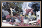 Cottonwood Lane Print by Kent Wallis