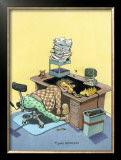 Monday Morning Framed Giclee Print by Gary Patterson
