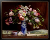 Spring Bouquet Print by Theresa Pergal
