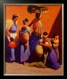 Almolonga Market Posters by Elias Rivera