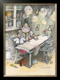 The Doctor Framed Giclee Print by Gary Patterson