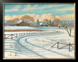Winter Scene I Posters by Ron Jenkins