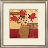 Tulip Trio Art by Jill Barton