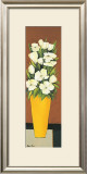 Yellow Vase Prints by Hans Paus