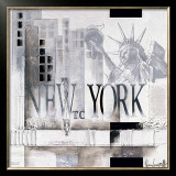 New York, WTC Why Posters by Marie Louise Oudkerk