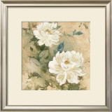 White Flowers I Posters by Jil Wilcox