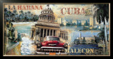 La Habana, Cuba Art by John Clarke