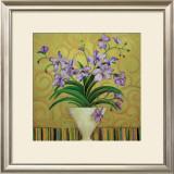 Purple Spring Prints by Shelly Bartek