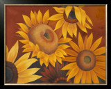Sunflowers I Prints by Vivien Rhyan