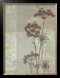 Silver Foliage I Prints by Ella K.