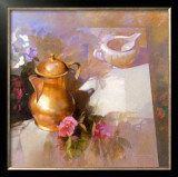 Composition with Cupper Jug Prints by Spartaco Lombardo